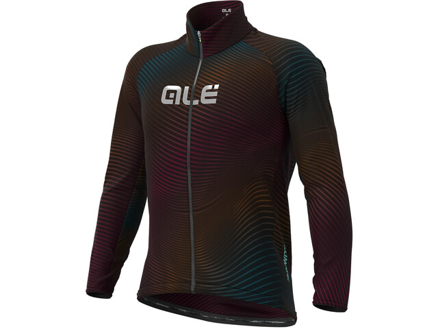 Alé Cycling Klimatik Guscio Rings Waterproof Jacket Men black/multicolor
